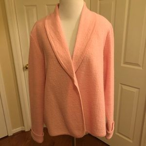 Kasper wool cardigan jacket